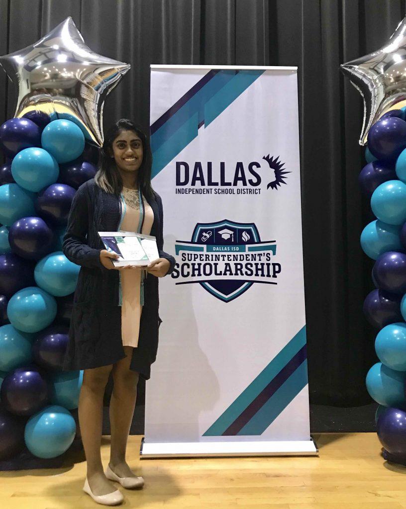 Sasha Thomas 2018 Dallas Isd Scholarship