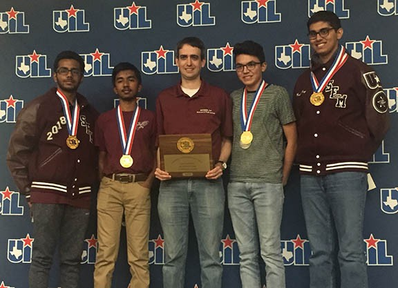 State UIL Math 2018 Mathematics First Place