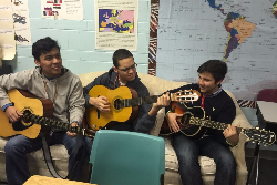 Guitar Club Playing