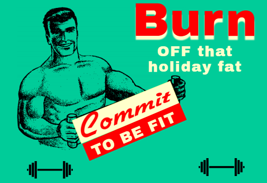 Commit To Get Fit Banner