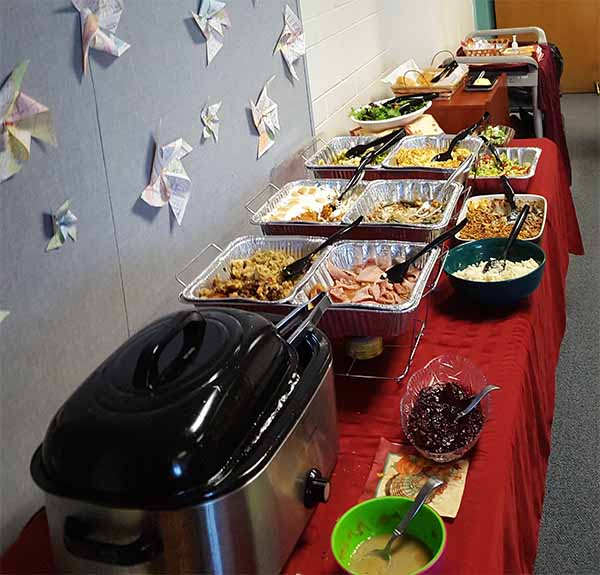 Ptsa Thanksgiving Teacher Lunch Buffet