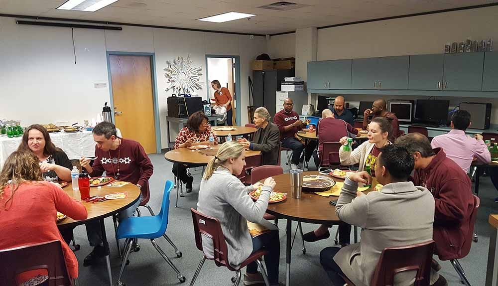 Ptsa Thanksgiving Teacher Lunch The Community