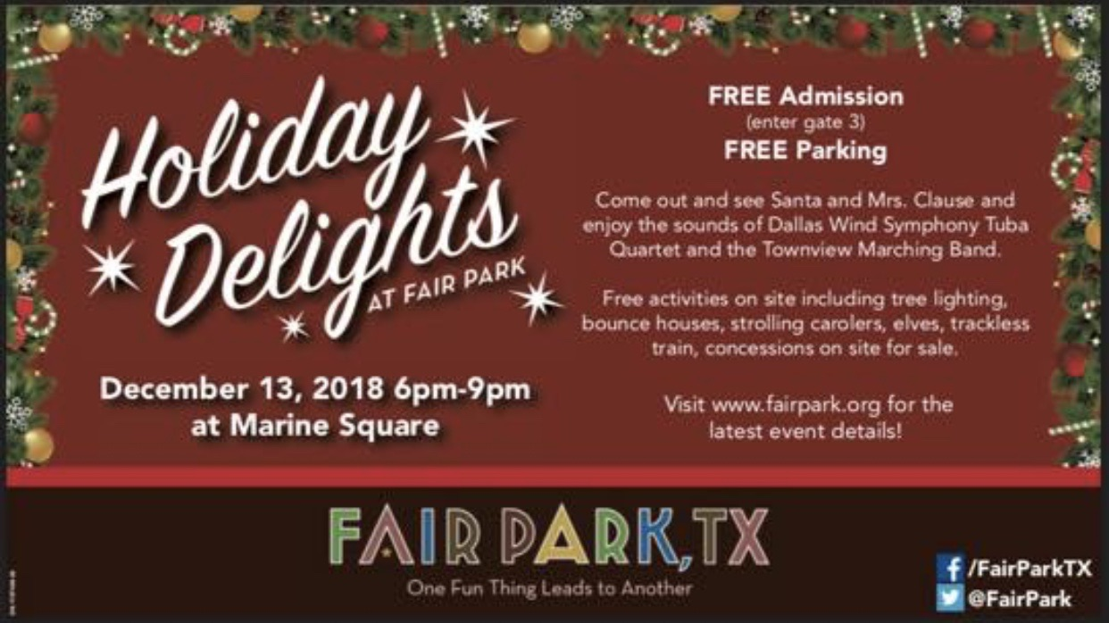 Holiday Delights At Fair Park