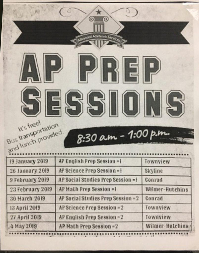 Ap Prep Sessions Spring 2019