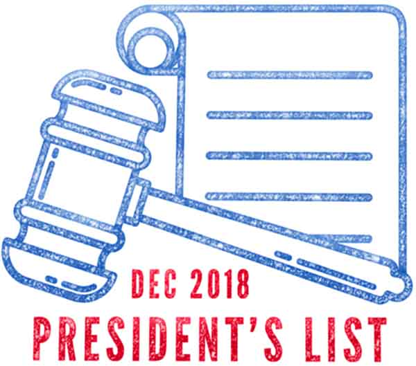 Texas Pta The President's List Award Icon
