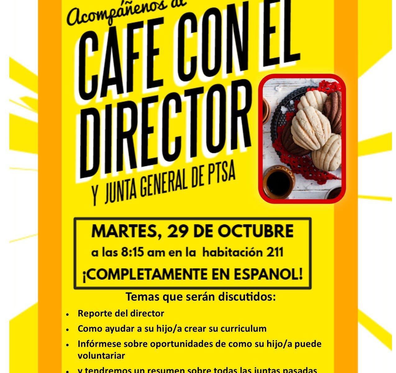 Cafe Con El Director
