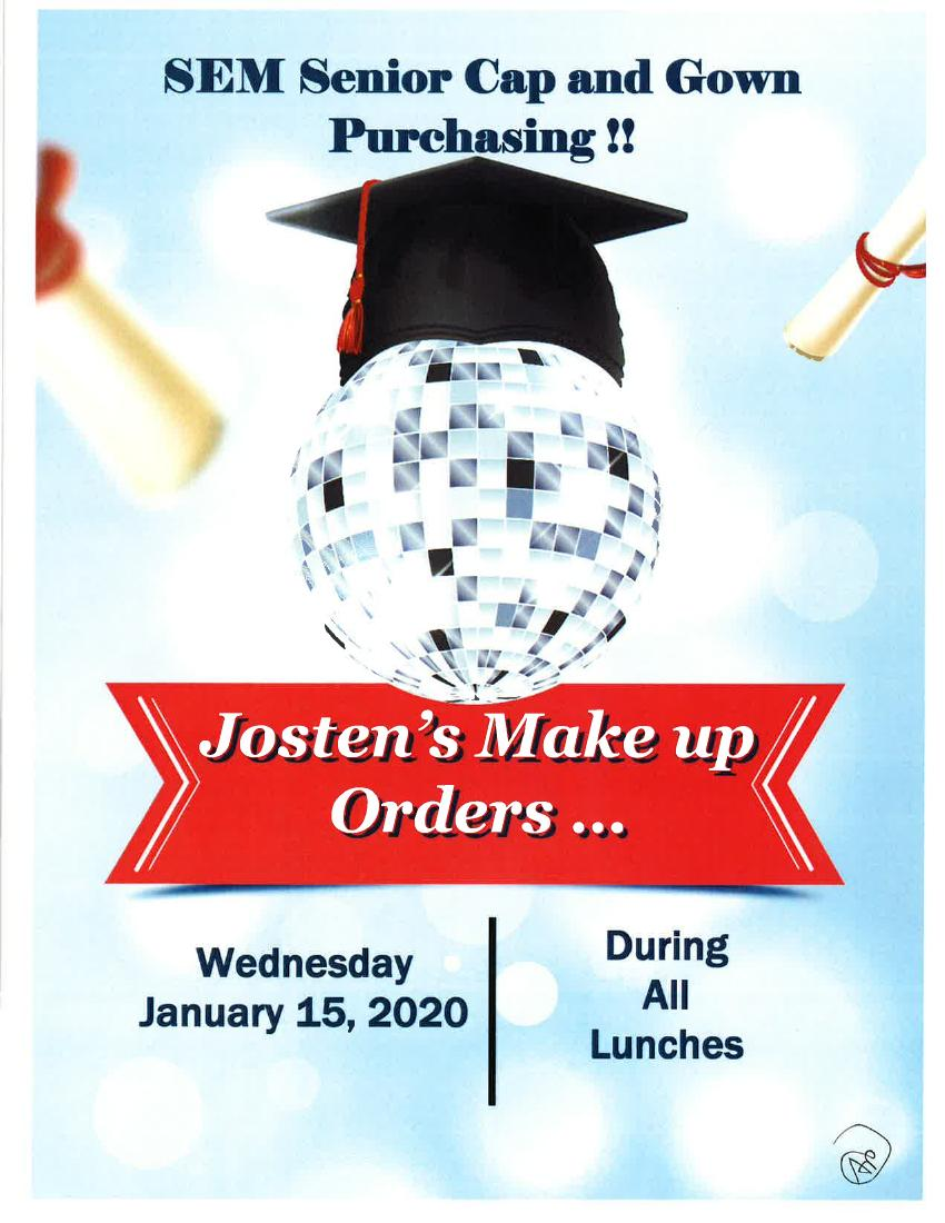 Jostens Senior Cap And Gown Info