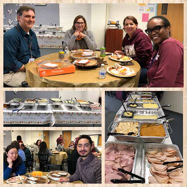 Thanksgiving Teacher Lunch 2019 1