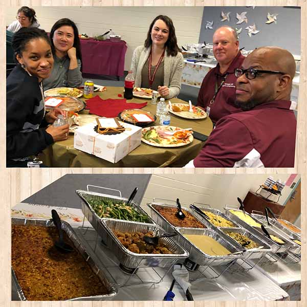 Thanksgiving Teacher Lunch 2019 4